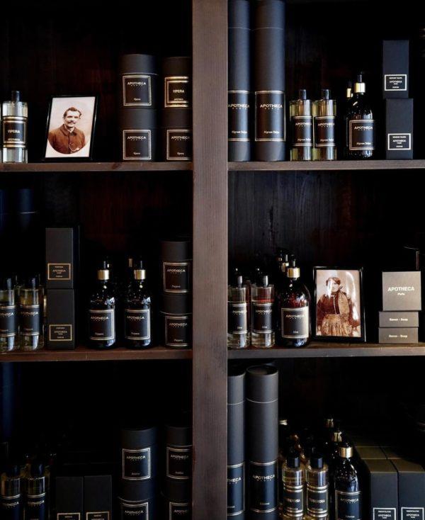 Parfums d'intérieur Apotheca Paris