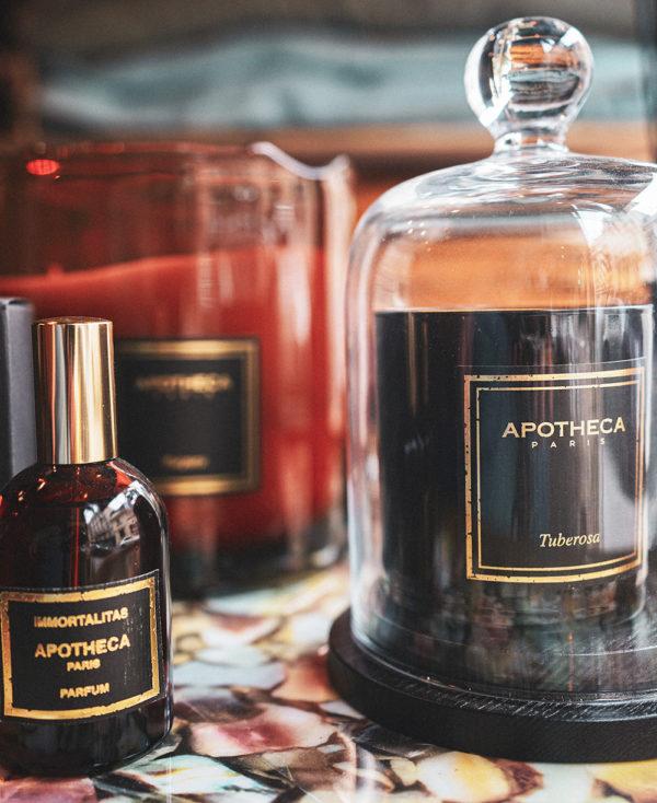 bougie parfumee tuberosa