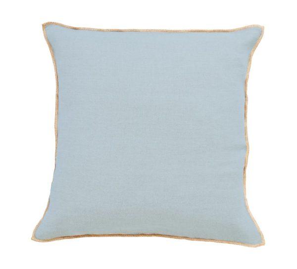 coussin bleu stone